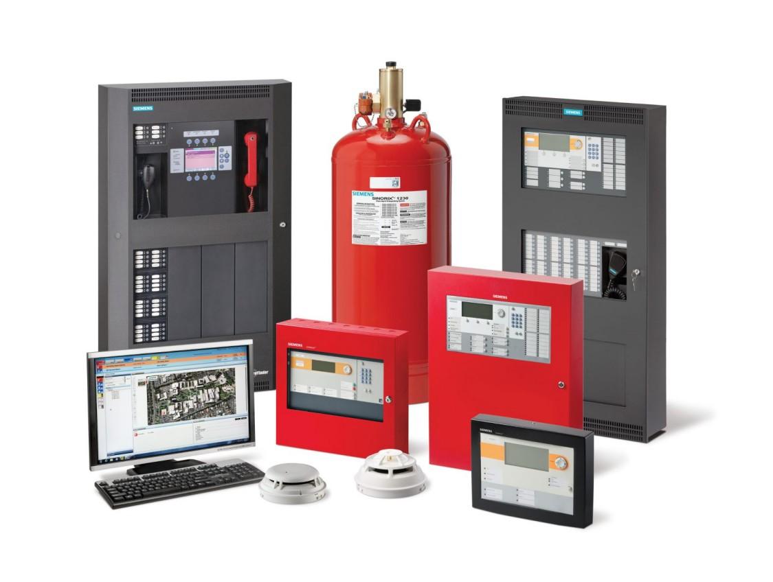 Система протипожежної сигналізації Desigo Fire Safety і Cerberus PRO (UL)