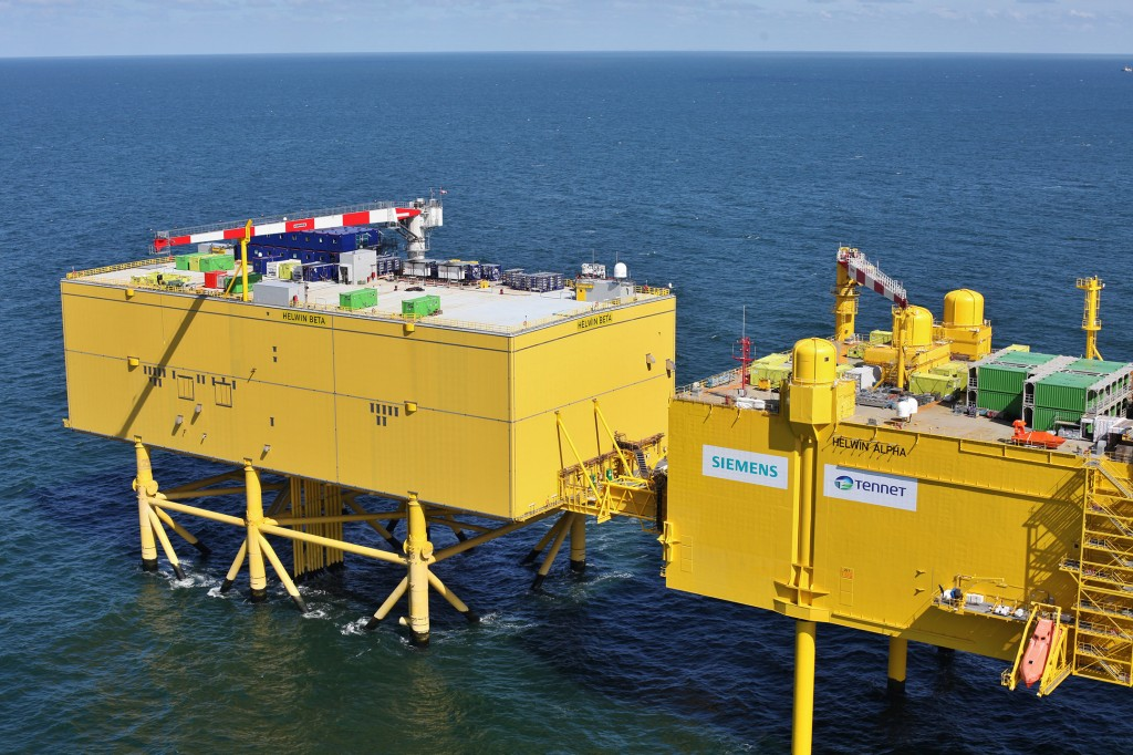 Siemens hands over fourth North Sea grid connection HelWin2 to TenneT