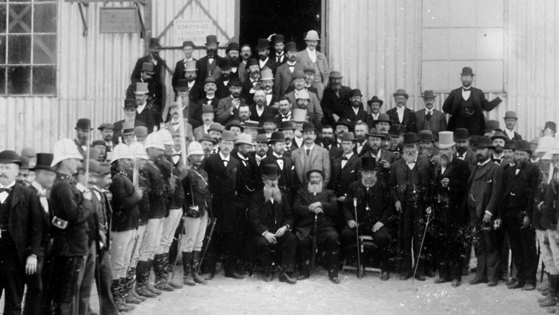 Siemens-Kraftwerk Brakpan, 18. September 1897