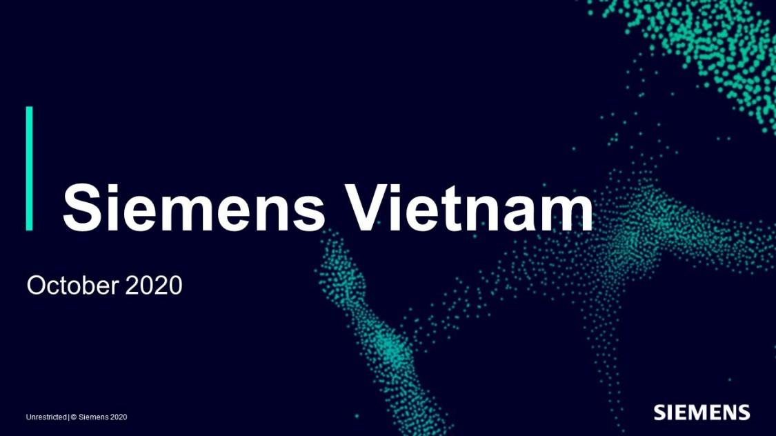 Siemens Vietnam presentation