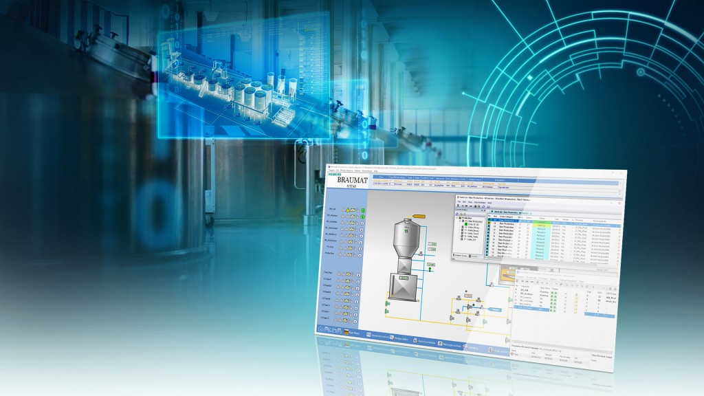 Siemens presents new version of the Braumat process control system