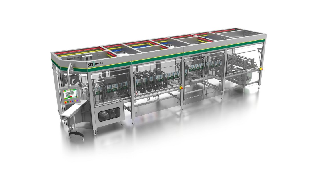 Рішення для пакувальних машин у фармацевтичній галузі