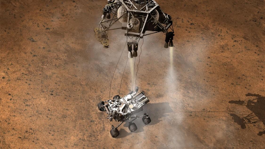 Robot on Mars