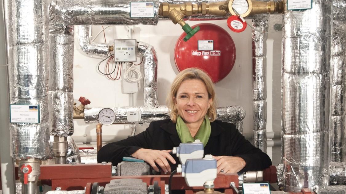 Michaela Reitterer, die Inhaberin des Boutiquehotels Stadthalle