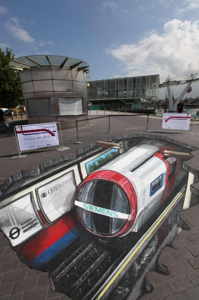 3D street art: Siemens Inspiro is going underground
