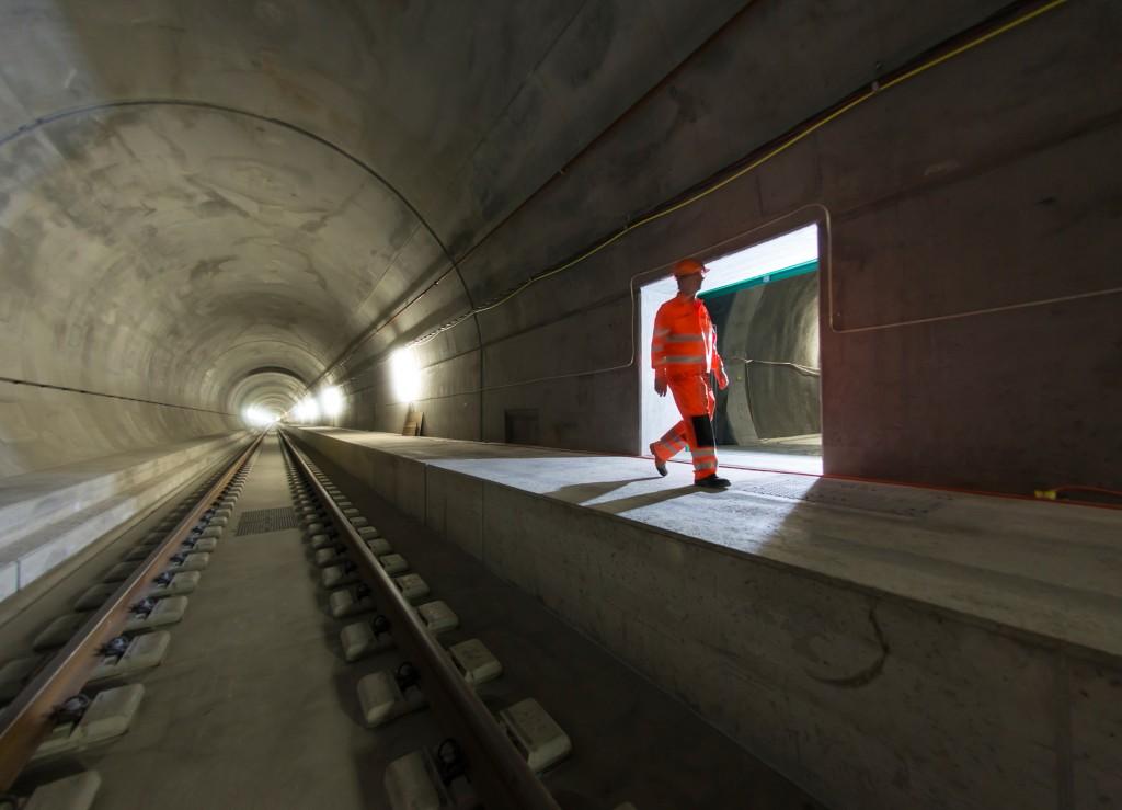 Gotthard Base Tunnel: Faido multifunction station