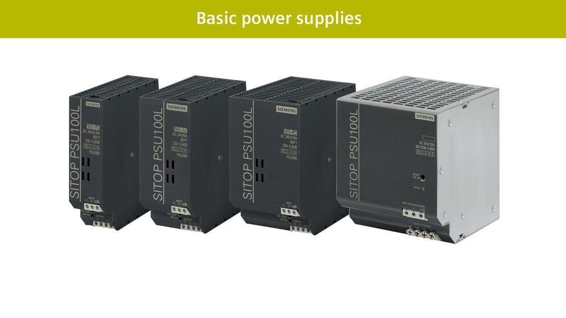 Basic power supplies SITOP lite