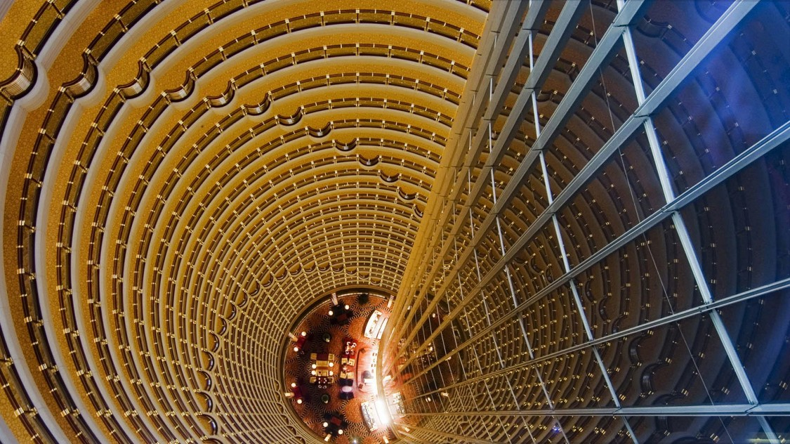 Башня Цзинь Мао в Шанхае, 2007 год