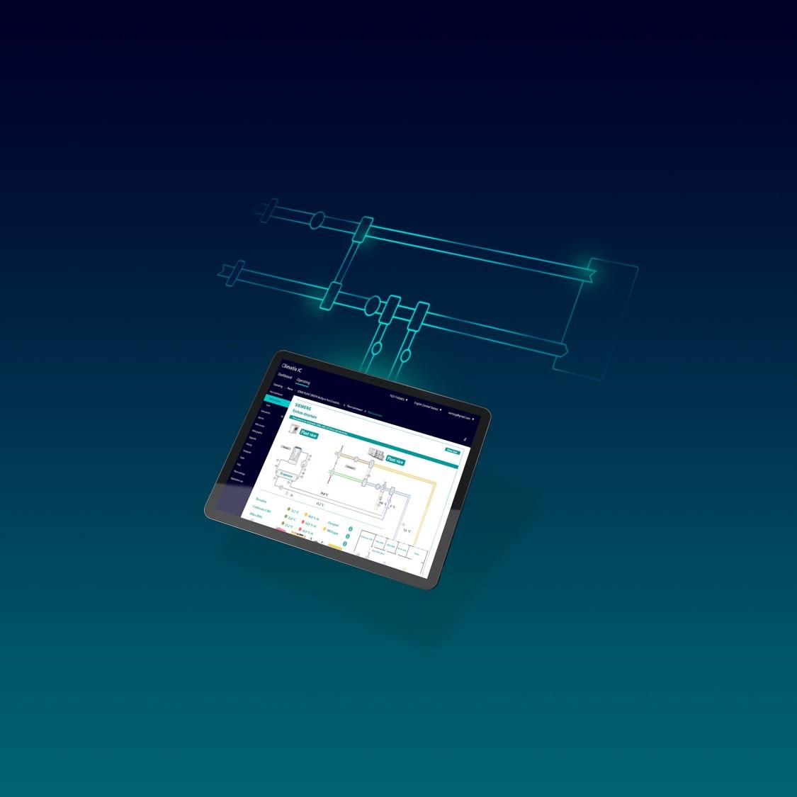 Climatix IC - système de service à distance