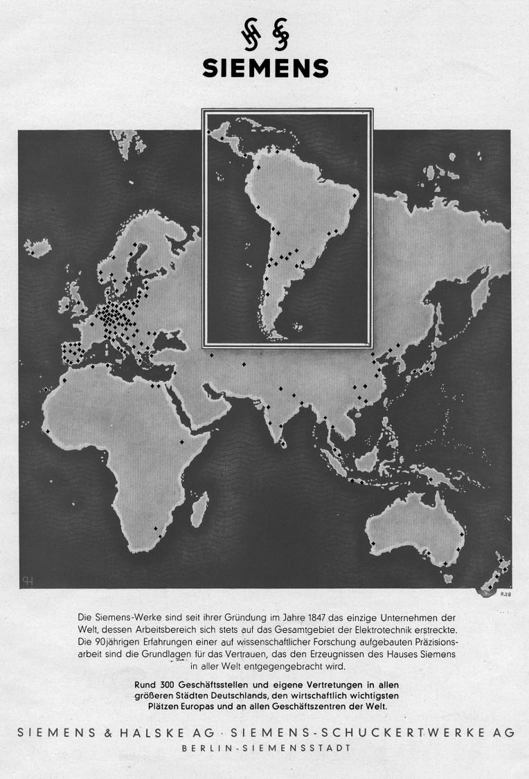 Corporate advertisement, 1937