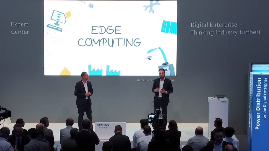 Discover, how easy edge computing with Industrial Edge and SIMATIC HMI Unified Comfort Panels is