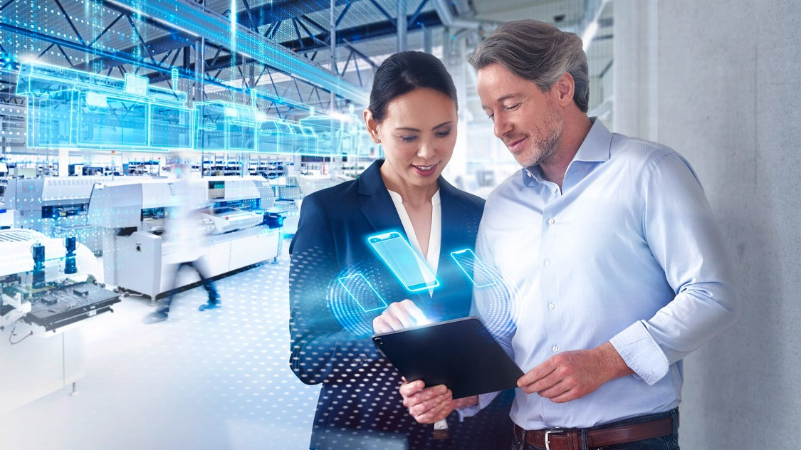 Mit dem Digital-Enterprise-Portfolio kann die Elektronikindustrie die Möglichkeiten der Digitalisierung ausschöpfen