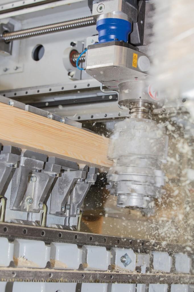 Effiziente Holzbearbeitung digital vernetzt