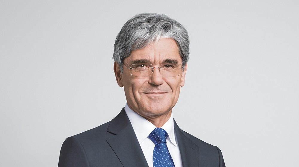 Joe Kaeser, President and CEO