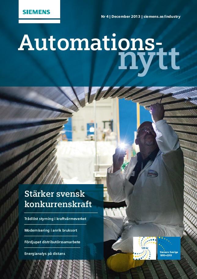 Automationsnytt Nr 4 | December 2013