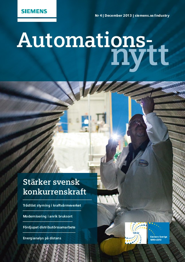 Automationsnytt Nr 4 | December 2013