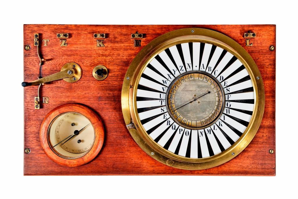 Zeigertelegraf (Nachbau), 1847
