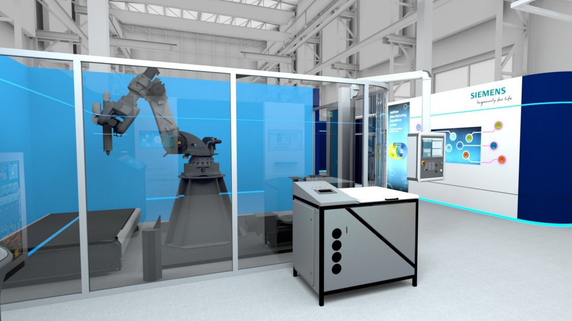 Experience the Siemens AM portfolio in a virtual space