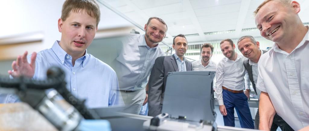 Inventors of the Year 2019: Heiko Claussen, Norman Drews, Josep Soler Garrido, Ingo Thon, Johannes Frank, Andreas Macher and Renè Fischer