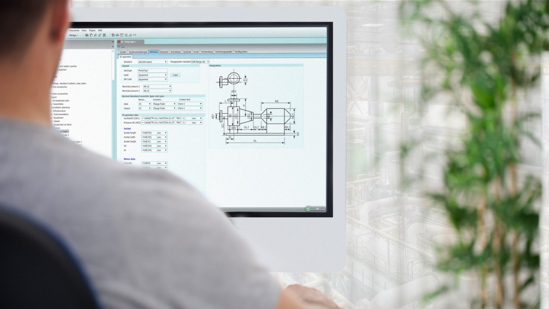 借助 COMOS PipeSpec 确保用户友好的管道工程设计