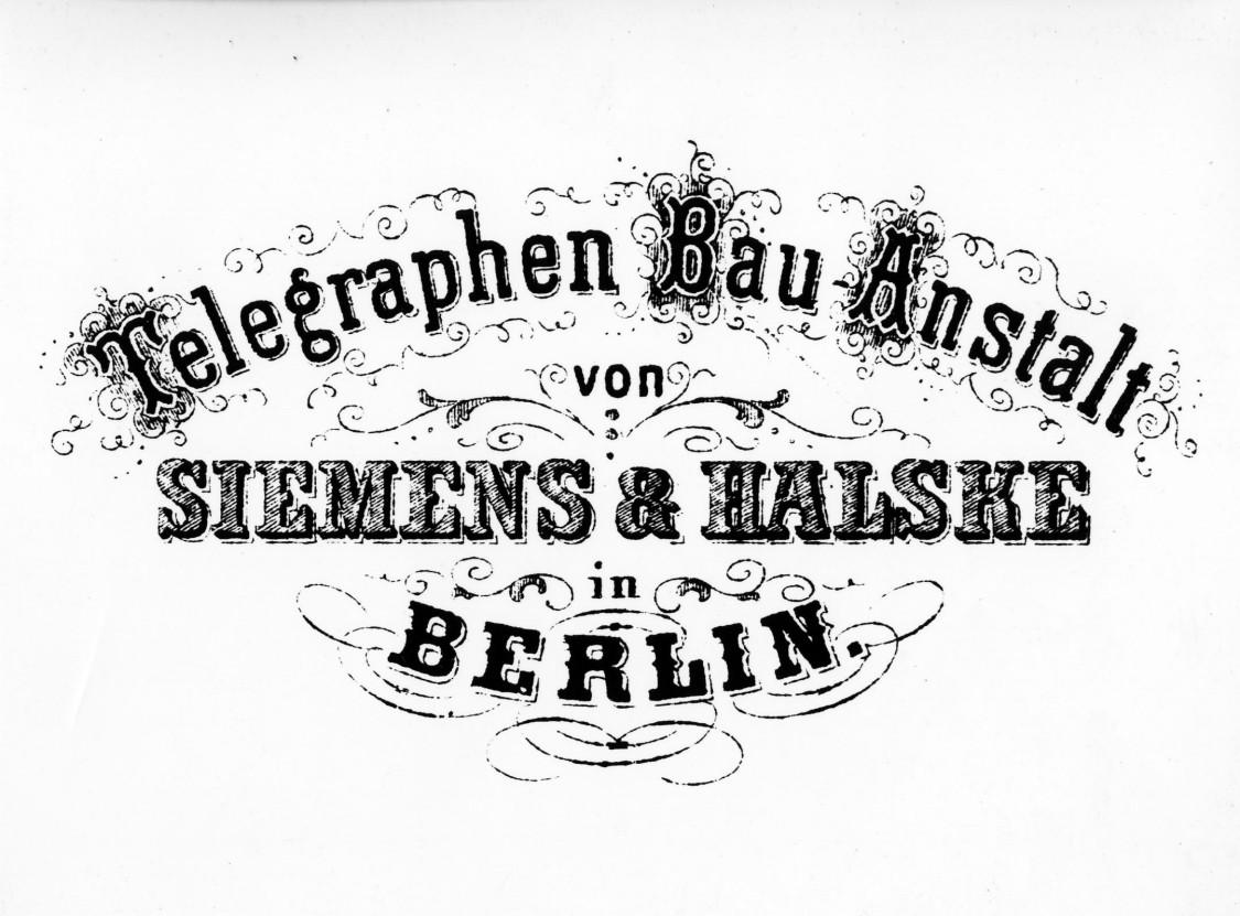 Telegraphen Siemens und Halske