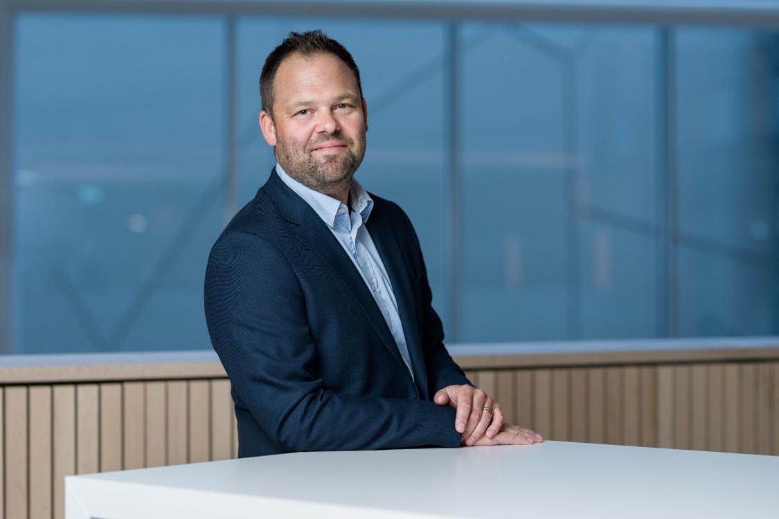 Johan Granton, chef för Smart Infrastructure, Regional Solution & Service Sverige, och vice ordförande i branschorganisationen Digitala fastigheter.