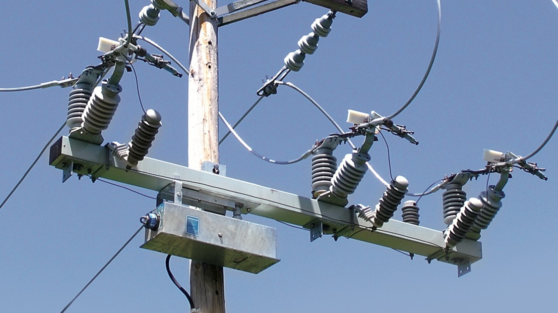 Image of Vector series 1 power lines