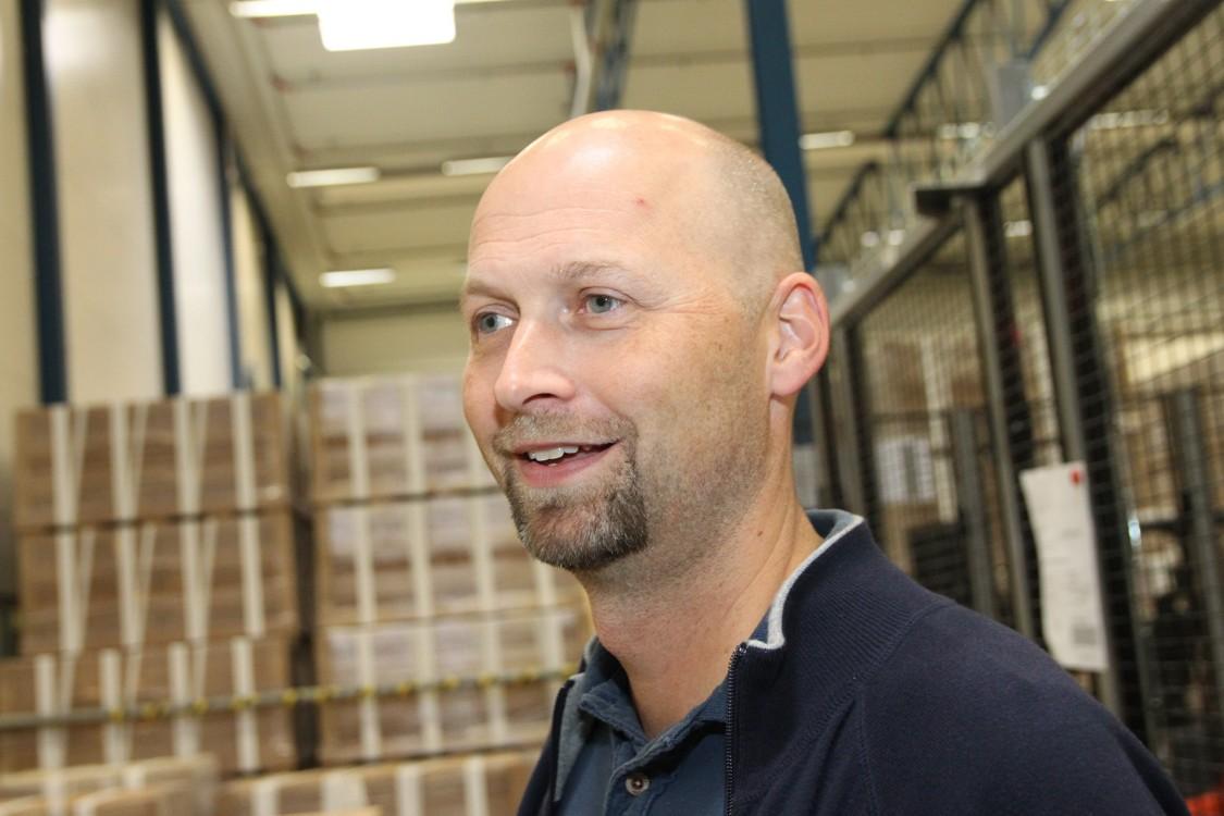 Henrik Thorildsson, chef för produktionsteknik på Spaljisten.