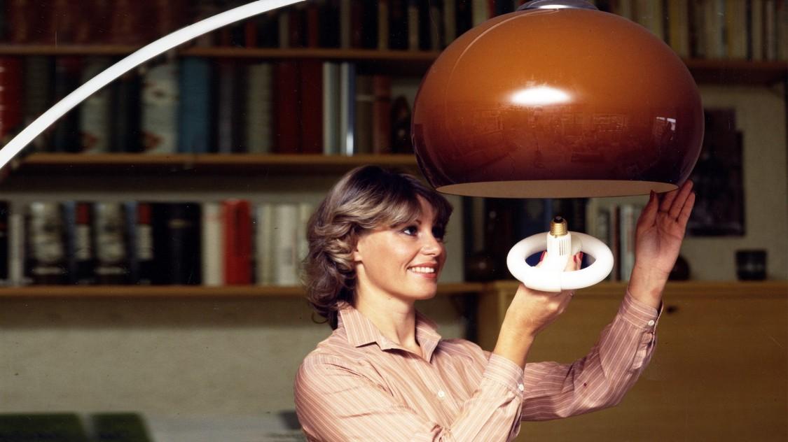 Люминесцентная лампа Circolux, 1980 год
