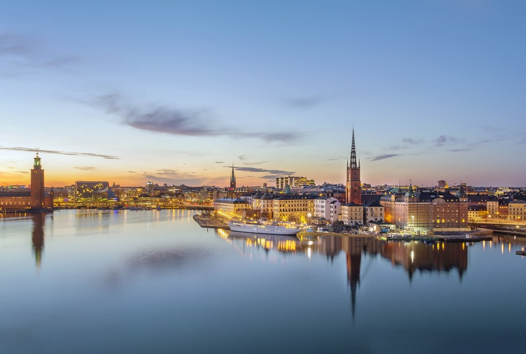 Island of Riddarholmen, Stockholm, Sweden