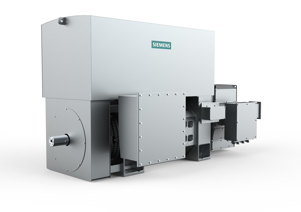 The new Simotics HV M slipring motors provide a range of power up to 4.5 MW.