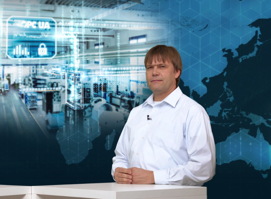 Sven Gottwald, Head of System Management im Bereich Process Industries and Drives