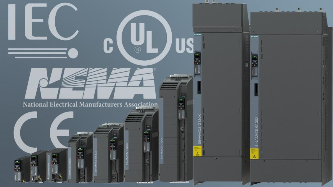 sinamics g120x - standards