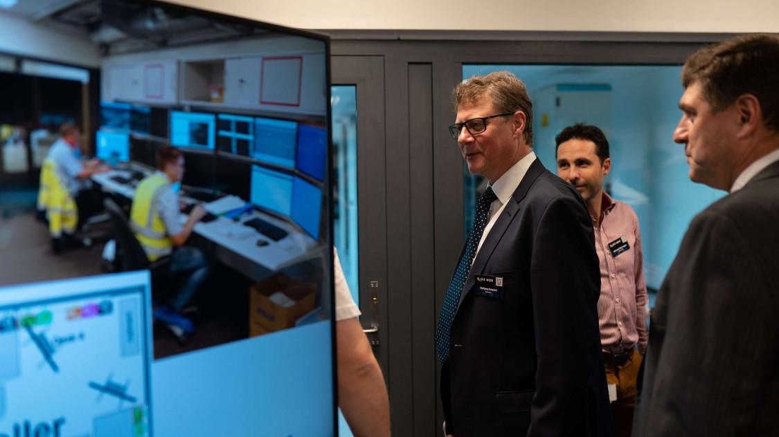 Siemens Mobility Projektleiter Wolfgang Rüprich