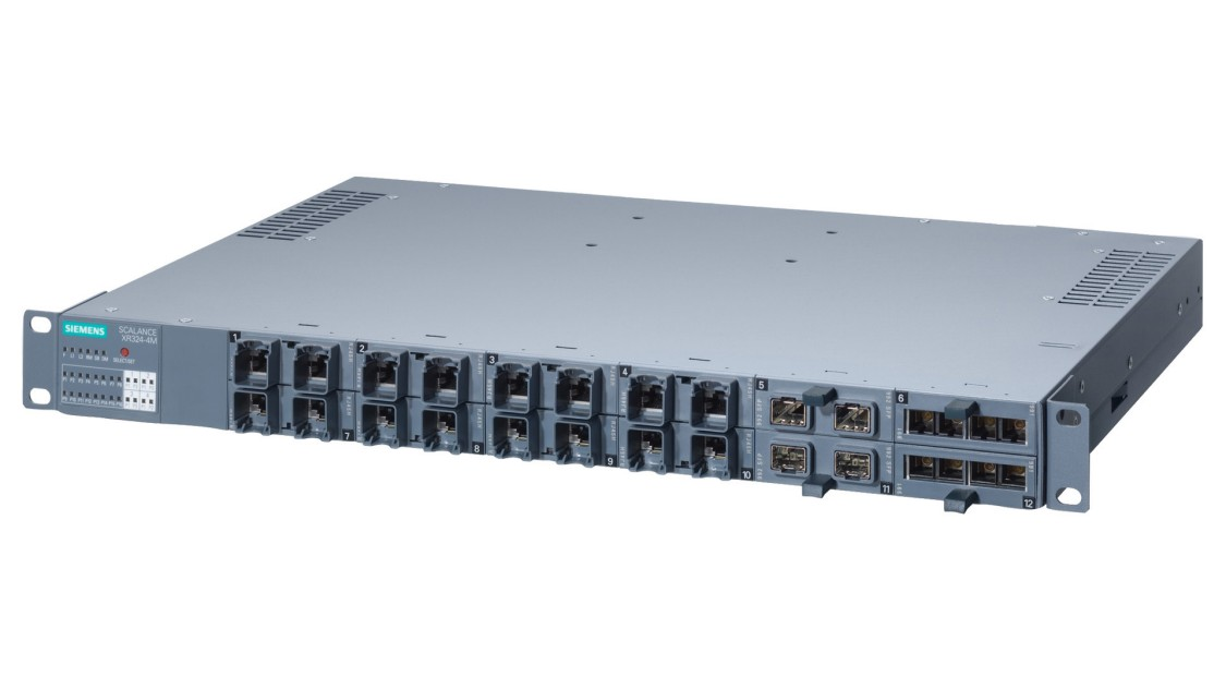 Image of a SCALANCE XR-300 switch