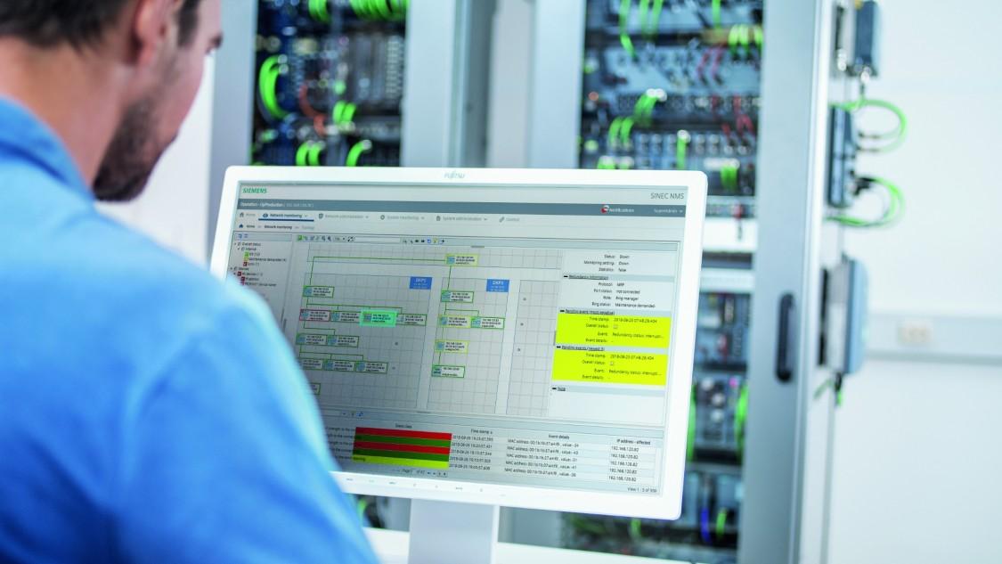 Management průmyslové sítě