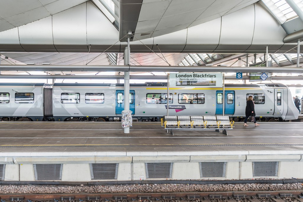 Thameslink showcases future of commuting at London Blackfriars