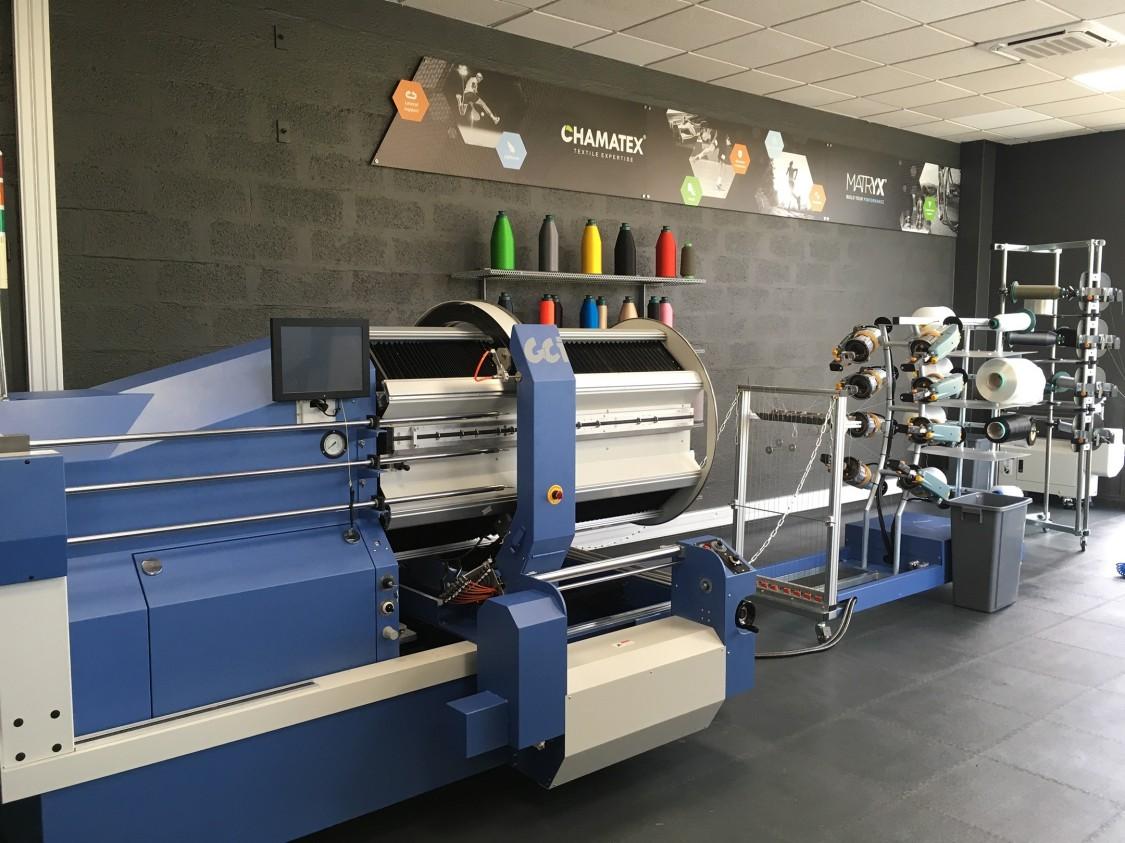 machine pour produire le textile Chamatex