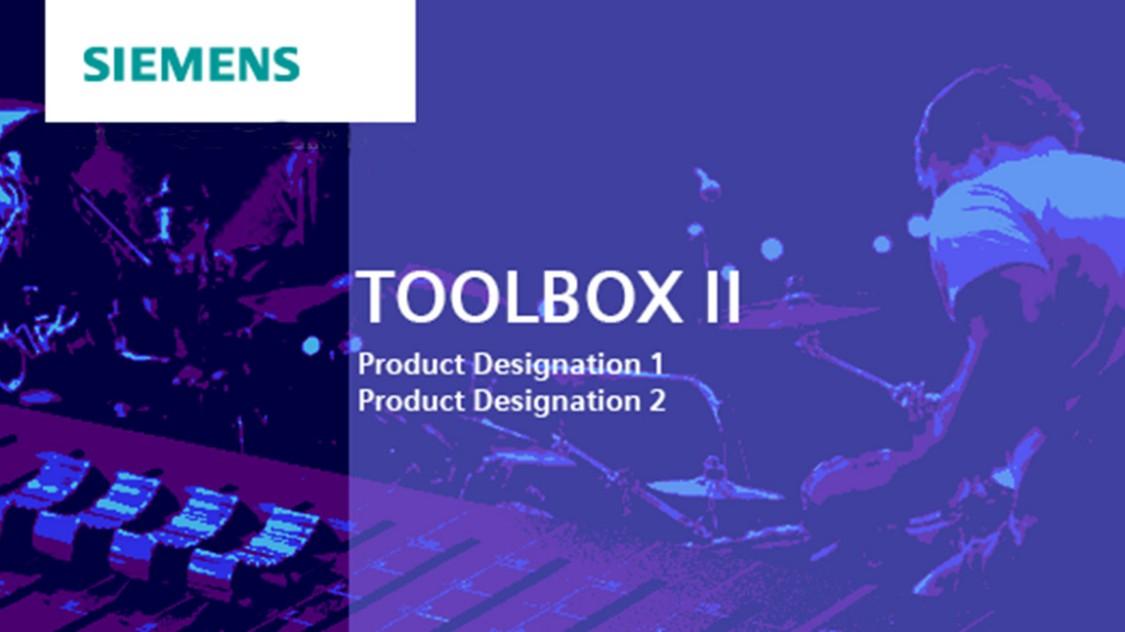 Engineering software for SICAM RTUs - SICAM TOOLBOX II