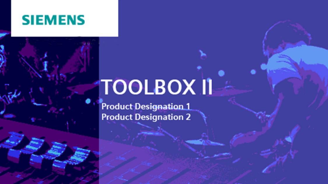 Engineering software for SICAM RTUs – SICAM TOOLBOX II