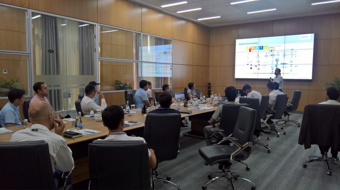 Встреча с инвесторами «Ташкент Сити»