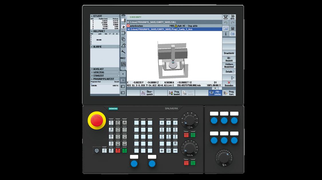CNC-Systems | SINUMERIK CNC automation system | Siemens