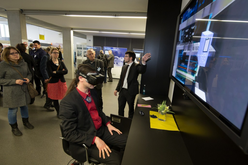 Besuch des Technologie- und Anwendungszentrums