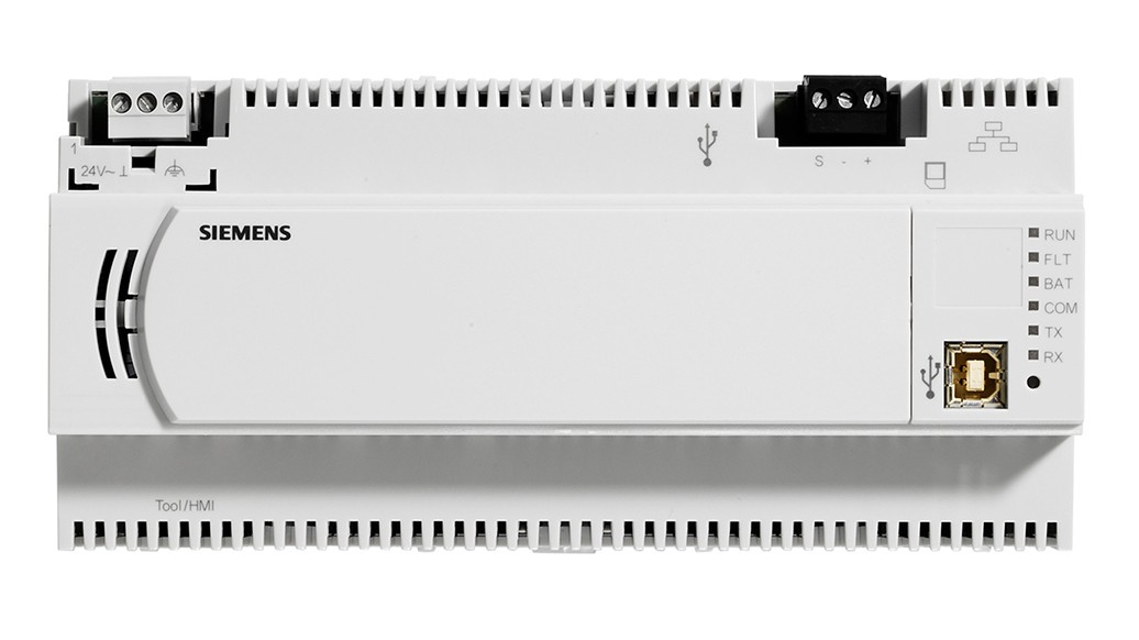 Siemens modular building automation controllers