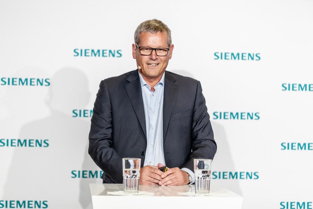 Siemens-Pressekonferenz auf der automatica 2018
