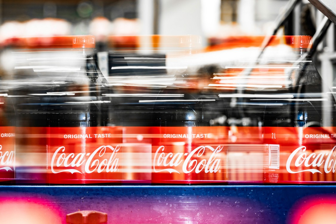 decarbonization at Coca-Cola production facility in Sweden