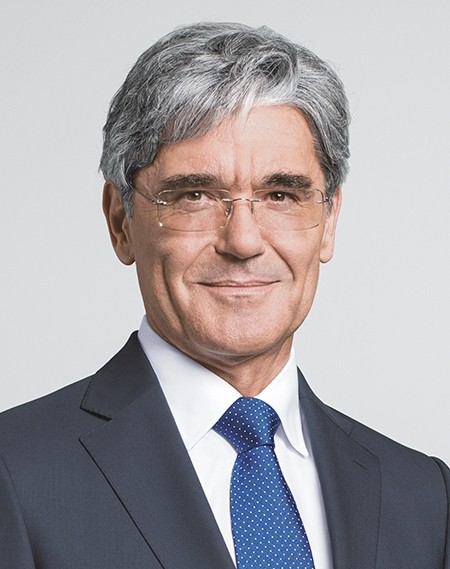 Joe Kaeser, President and Chief Executive Officer Siemens AG