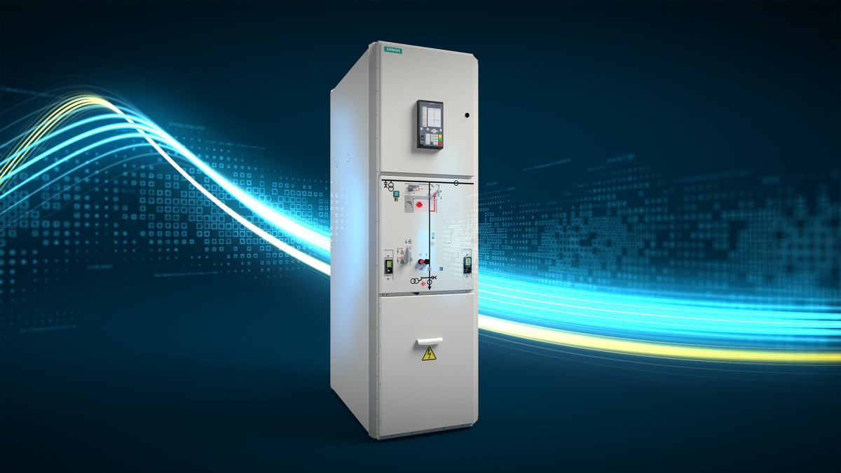 Siemens enables climate-neutral, safe power distribution with a new clean air switchgear