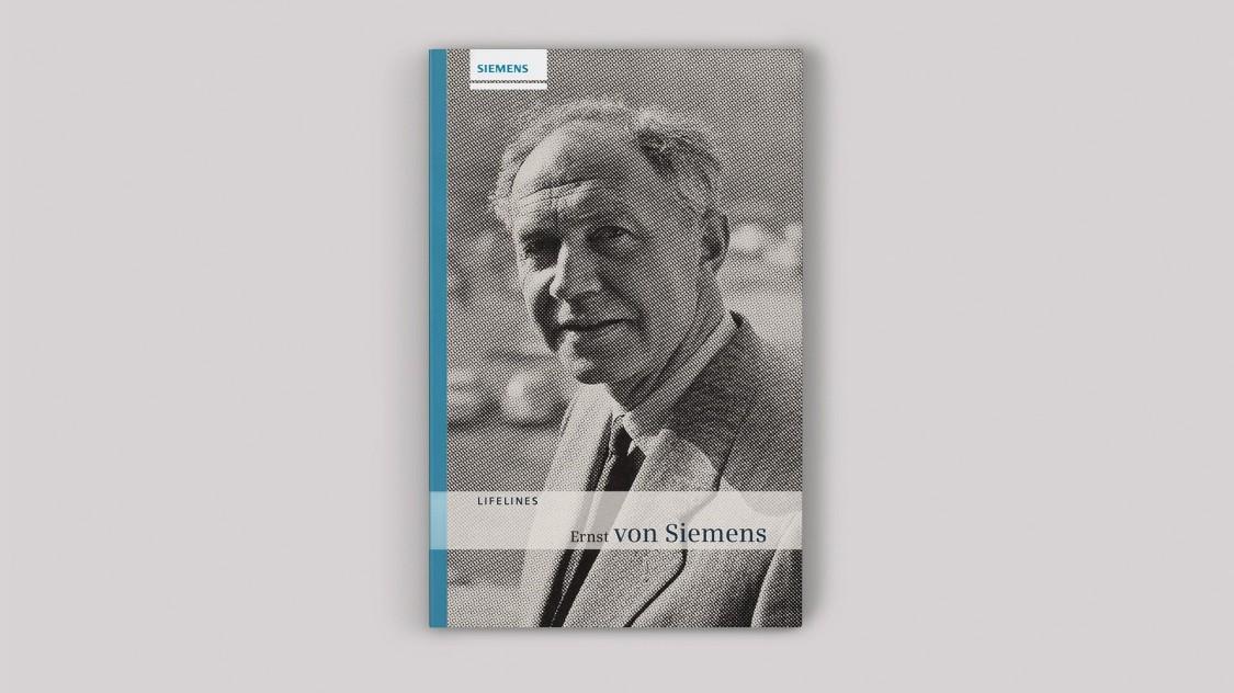 Ernst von Siemens, cover