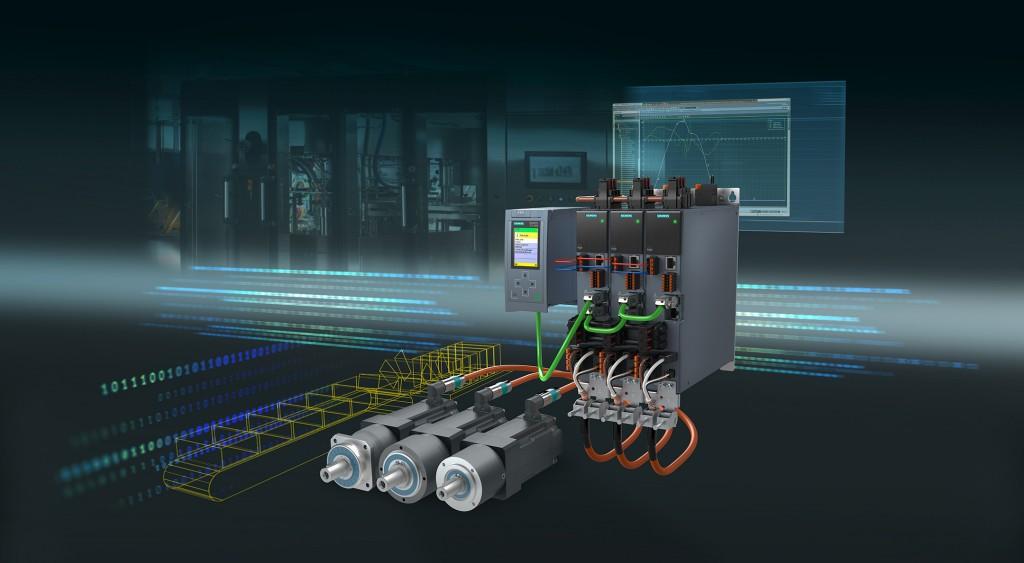 Die neuen Servo-Planeten-Getriebemotoren Simotics S-1FK2 ergänzen das Sinamics S210 Servoantriebssystem.